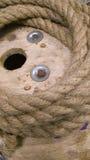 Confecção de malhas da corda Fotos de Stock Royalty Free