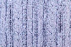 Confecção de malhas da textura da tela da camiseta ou do lenço grande Fundo feito malha do jérsei com um teste padrão de relevo T Imagem de Stock