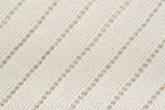 Confecção de malhas da textura da tela da camiseta ou do lenço grande Fundo feito malha do jérsei com um teste padrão de relevo M Fotos de Stock Royalty Free