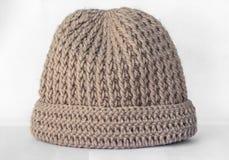 Confecção de malhas dos chapéus feito a mão Fotografia de Stock