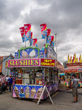 Confection booth at the the Calgary Stampede midway. CALGARY, CANADA - JULY 9: Confection booth at the the Calgary Stampede midway on July 9, 2016 in Calgary Stock Photos
