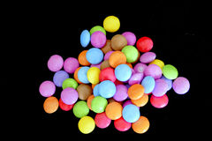 Confection colorée Photos stock
