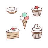 Confection pack Royalty Free Stock Photography