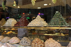 Istanbul, Turkey Confectionary and foods Stock Photo