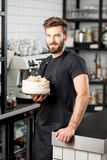 Confectioner portrait indoors Stock Image