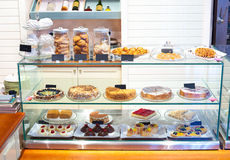 Confectioners shop Royalty Free Stock Photography