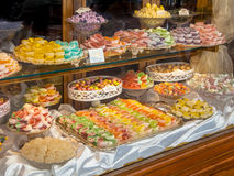 Confectionery Display Case Stock Photo