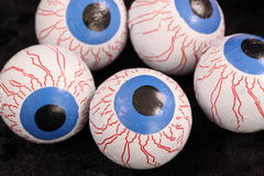Confectionery eyeballs. That could be used at Halloween Royalty Free Stock Photos