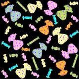 Confectionery pattern . Illustration sweet. Stock Photo
