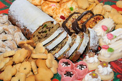 Confectionery products. In a assortment Stock Photography