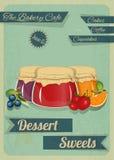 Confectionery Retro Design Stock Image