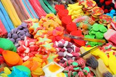 Confectionery shop Royalty Free Stock Images