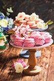 Confectionery showcase close up Royalty Free Stock Photo