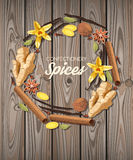 Confectionery spices Stock Images