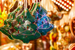 Confectionery Stall at Winter Wonderland Royalty Free Stock Photo