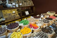 Confectionery store Royalty Free Stock Images
