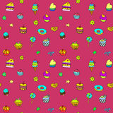 Confectionery Sweet Color Set Stock Photography