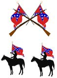 Confederacy  elements Royalty Free Stock Photography