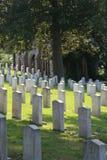 Confederado do cemitério da madeira de carvalho inoperante de Gettysburg Imagens de Stock