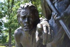 Confederados em Gettysburg Imagens de Stock