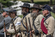Confederate Army Royalty Free Stock Image