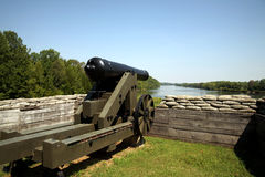 Confederate Cannon Royalty Free Stock Photography