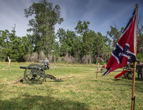 Confederate Cannon Royalty Free Stock Photo