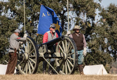 Confederate Cannon Royalty Free Stock Images