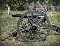 Confederate Cannons Stock Photography