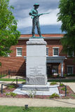 Confederate Civil War Monument - Abingdon, Virginia Stock Image