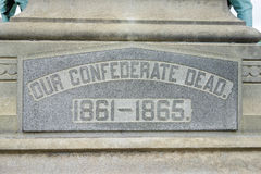 Confederate Dead Stock Images
