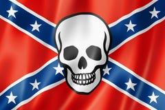 Confederate death flag Royalty Free Stock Photos