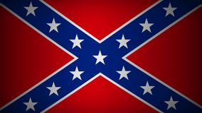 Confederate Flag stock footage