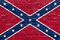 Confederate flag Stock Images