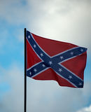 Confederate Flag. The Confederate Flag of the US civil war royalty free stock images