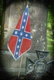 Confederate Grave Stock Photo