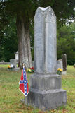 Confederate Grave Royalty Free Stock Photo