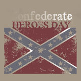 Confederate Heroes Day Stock Image