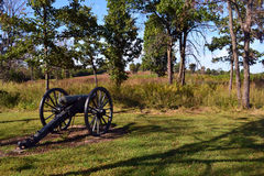 Confederate Line at Bloody Hill  at Wilson's Creek Royalty Free Stock Photo