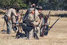 Confederate Line Stock Photos