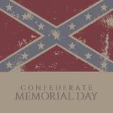 Confederate Memorial Day Stock Photo