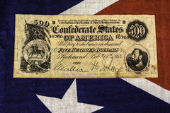 Confederate Money Royalty Free Stock Photo