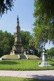 Confederate Monument Stock Photography
