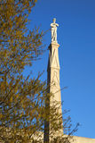 Confederate monument. In Jackson Mississippi stock images