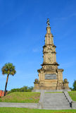 Confederate monuments Stock Photography