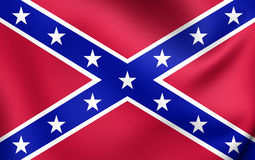 Confederate Navy Jack of United States Royalty Free Stock Photos