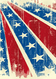 Confederate poster. A confederate background with a texture for you Stock Photography