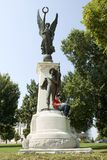 Confederate Soldiers of Arkansas Monument Stock Images