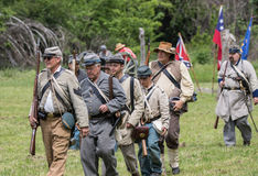Confederate Soldiers Royalty Free Stock Image