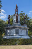 Confederate Soldiers Monument at Texas State Capitol grounds in Austin,  TX Stock Photo